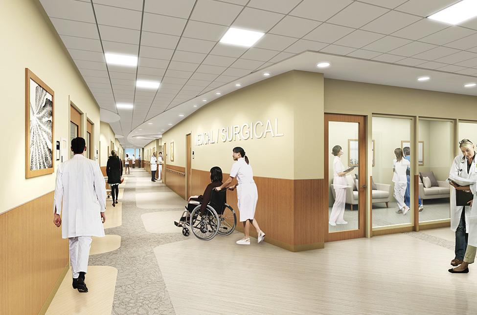 Medical Hallway