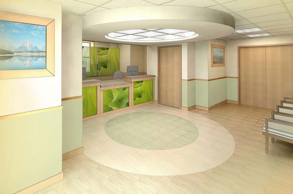 Inside Dentist Office