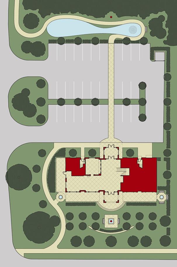 Vault Restaurant Site Plan