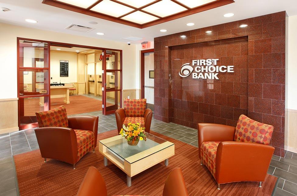 First Choice HQ Lobby