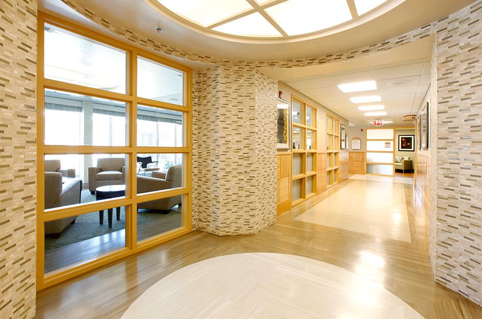 Center for Innovation Hallway