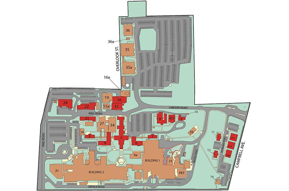 Sterile Processing Center Site Plan