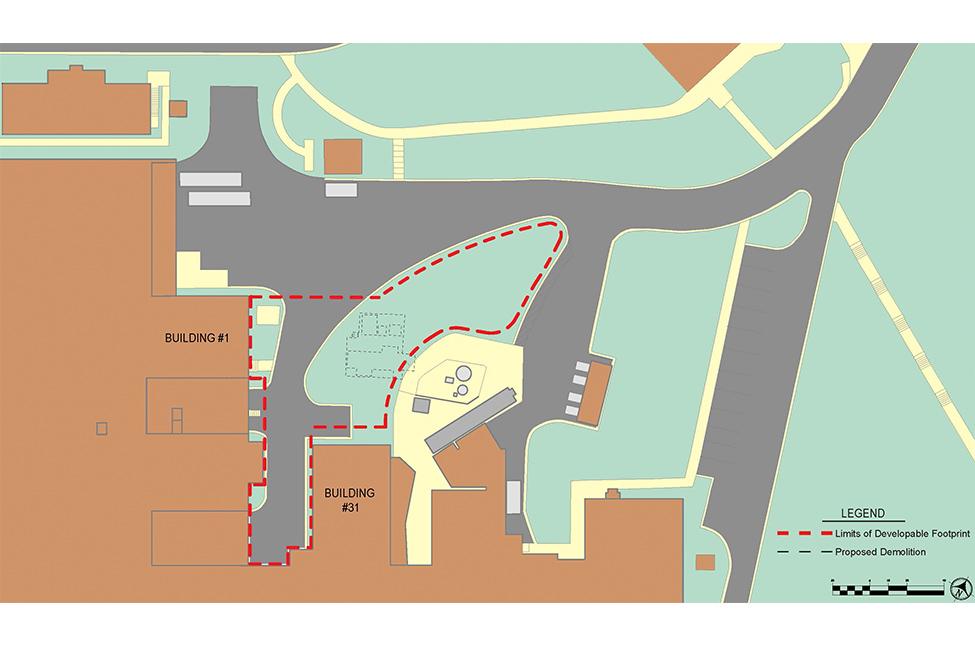Sterile Processing Center Project Area